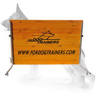 New Schutzhund Wood Barrier - 1 meter - for German Shepherd Training