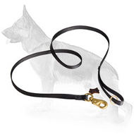 Extra Strong Nylon German Shepherd Leash with Massive Snap Hook