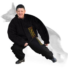 Nylon dog bite protection suit