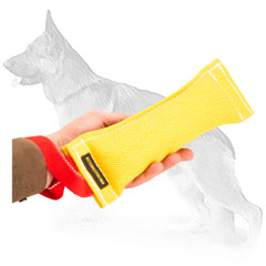 French Linen Bite Tug for Bite and Retrieve Training