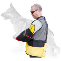 Intermediate German Shepherd Bite Sleeve with Shoulder Protector