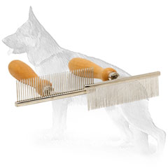 German Shepherd Metal Comb