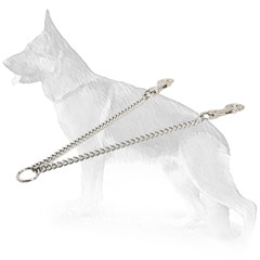 Chain Coupler for 2 Dogs
