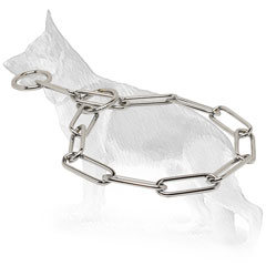 Chrome Plated Collar for Dog Training
