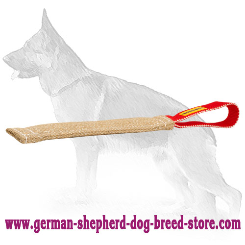 Pocket Jute German Shepherd Toy for Bite Training
