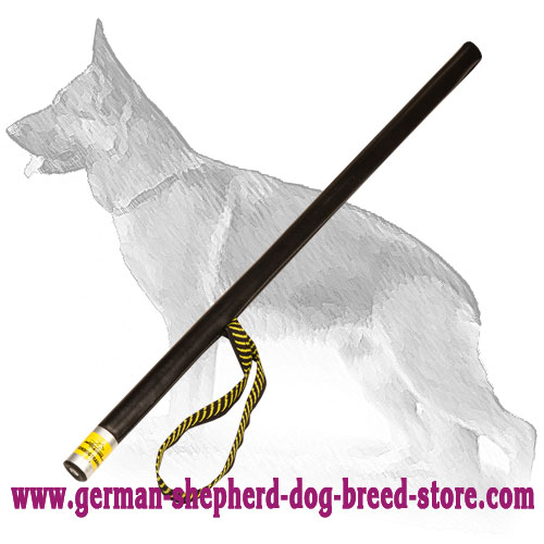 Agitation Training German Shepherd Stick with Hang Loop