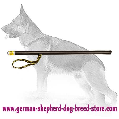 Agitation Training German Shepherd Stick Leather Covered