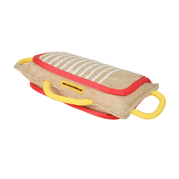 Durable Jute Bite Pad for Grip Developing