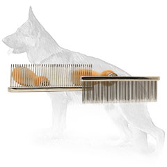 Metal Dog Brush for Easy Grooming