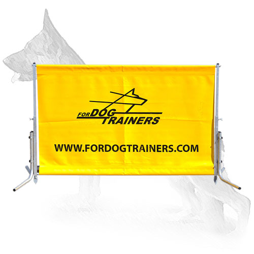 German Shepherd Barrier for Dog Training