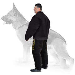 Extra protection from dog bites nylon suit
