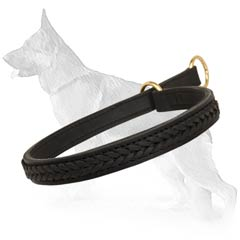 German Shepherd Dog Collar For Walking And Training