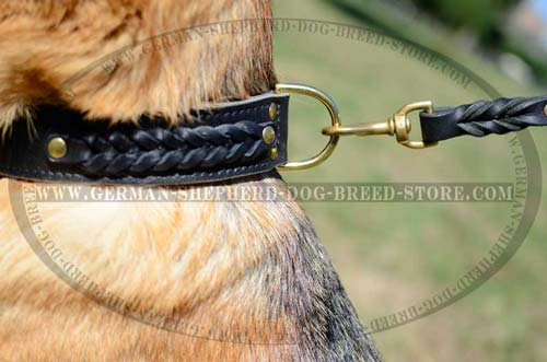 German Shepherd Dog Collar For Working Dogs
