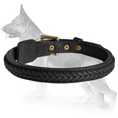 German Shepherd Dog Collar For Stylish Dogs