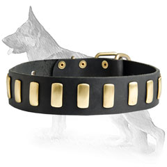 Cozy German Shepherd Dog Collar
