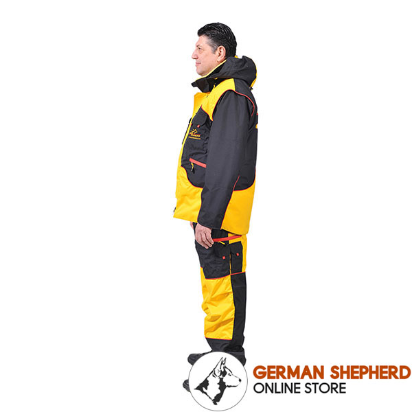 Ultimate in Convenience and Protection Training Suit for Safe Training