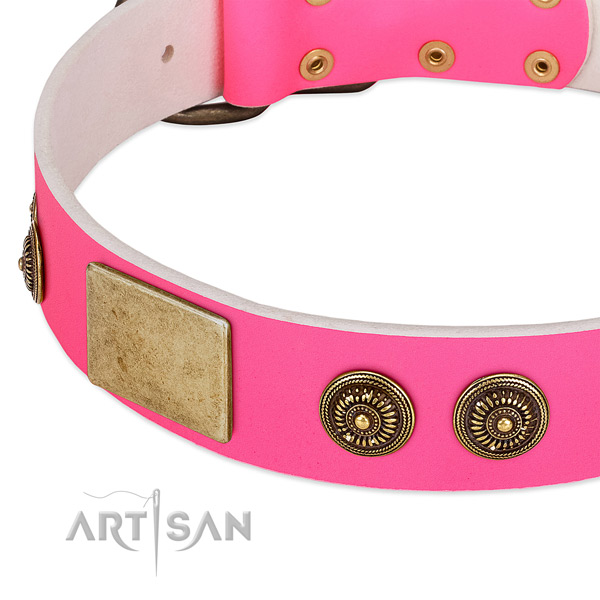 Best quality dog collar handmade for your impressive dog