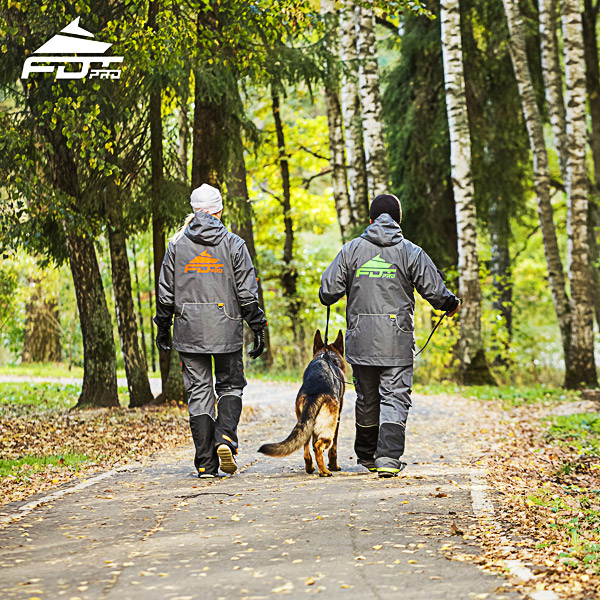 Professional Dog Training Jacket of Fine Quality for All Weather Use