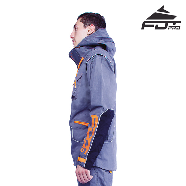 FDT Pro Dog Trainer Jacket of High Quality for Any Weather Use