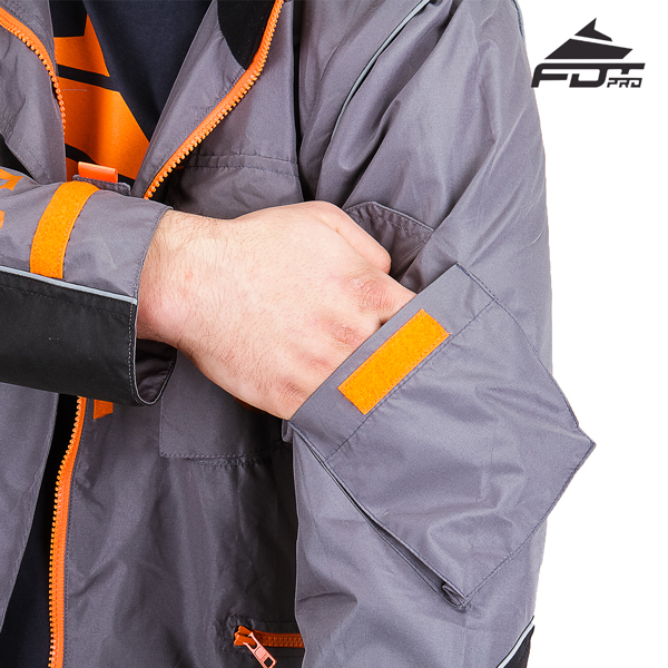 Comfy Sleeve Pocket on Pro Design Dog Trainer Jacket