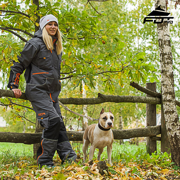 Men / Women Design Pants with Convenient Side Pockets for Active Dog Training