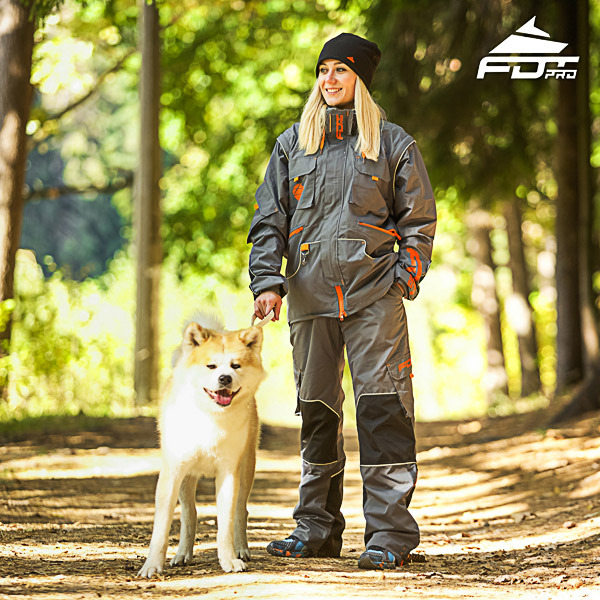 Unisex Design Dog Trainer Jacket of High Quality Materials