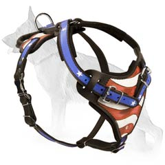 German Shepherd Dog Harness For Agitation Training