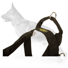 German Shepherd Nylon Harness For Training
