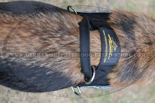 German Shepherd Nylon Harness Reliable Fittings