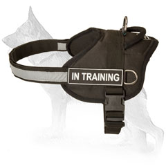 Easily Adjustable German Shepherd Nylon Harness