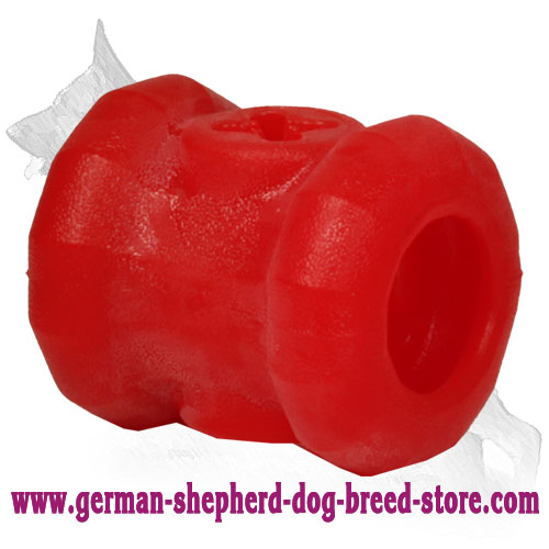 Yammy Bobbin Chew Ball for Fun and Healthy Treating Middle Size