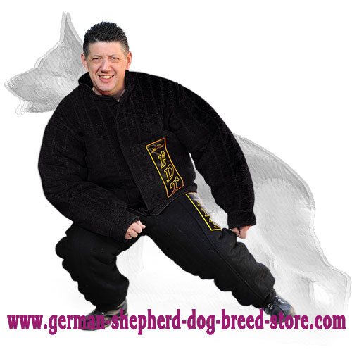 Dog Bite Protection Suit for German Shepherd Mondioring Training