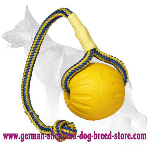 Interactive Foam Training Ball for German Shepherd 3 inch (7,5 cm) - Medium Size