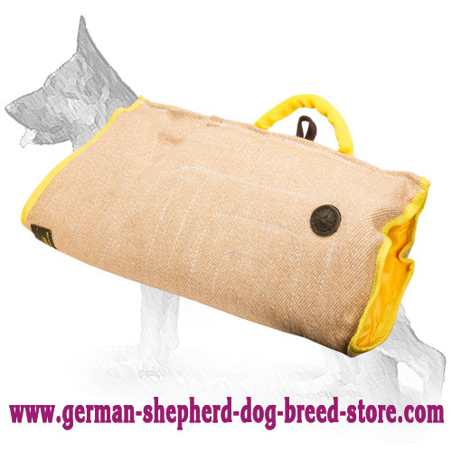 Jute German Shepherd Bite Sleeve for Puppy and Young Dog Training