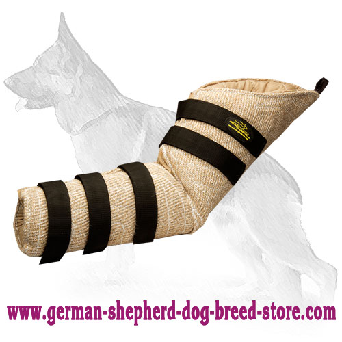 Jute Hidden German Shepherd Bite Sleeve