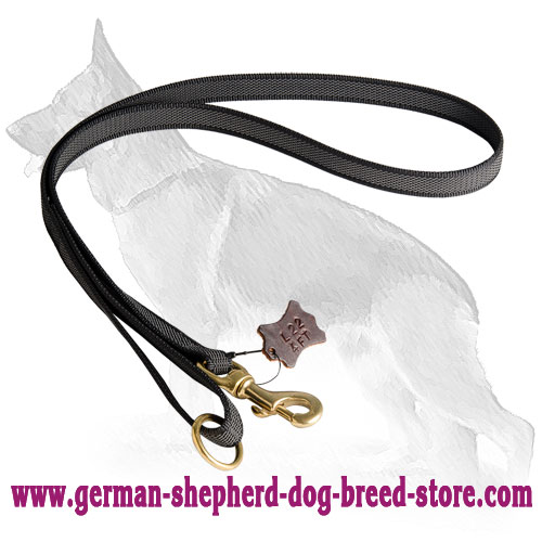I-Grip Nylon German Shepherd Leash for Training