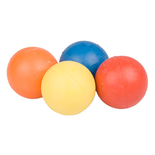 German Shepherd Crazy Color Rubber Ball 2 1/3 inch (6 cm) - TT12