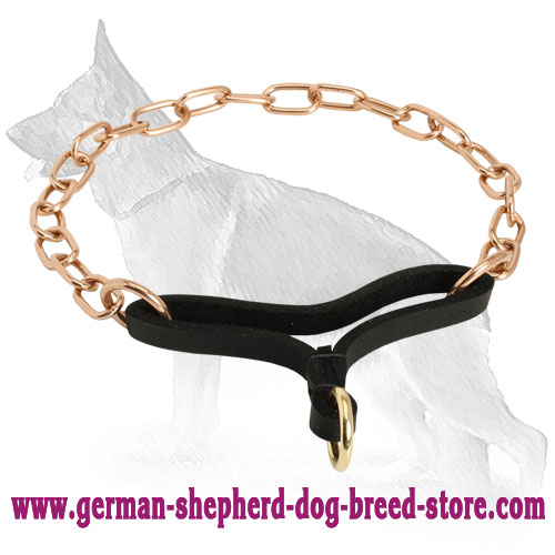 Noiseless Control Martingale Collar of Curogan - 1/9 inch (3 mm)