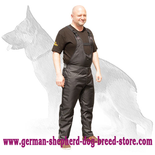 Scratch Protection Nylon Pants for German Shepherd Training
