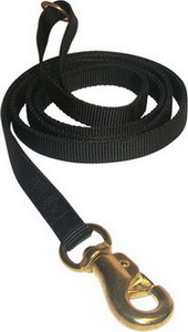 Tubular Nylon Waist Leads 6ft for German Shepherd