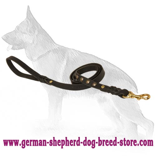 German Shepherd Dog Leash For Easy Walking
