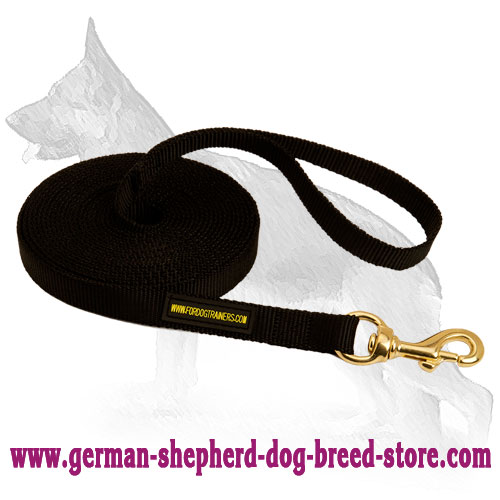 Tracking Nylon German Shepherd Leash for Professional Training