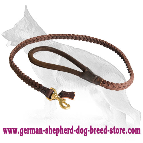 German Shepherd Leash With Unordinary Design